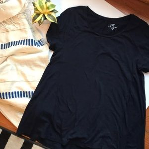 crown & ivy Tops - (free w/ purchase) Crown & Ivy navy authentic tee